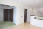 スッキリ収納とマッタリできる和室のある家