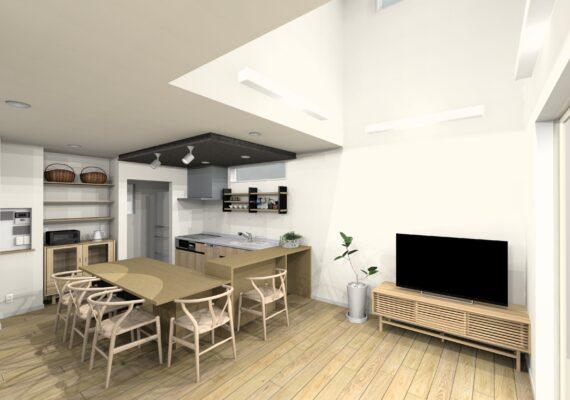 2棟目は家事ラク動線を大切にした カフェのようなお家